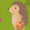Иллюстрация к мультику на песню Ёжик